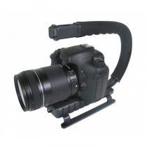 Grip e estabilizador de mão para filmar esportes de ação com câmera DSLR vídeo azul - VIVVPT200 - Vivitar - Vivitar