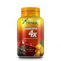 Guarana 4x fitoway (guaraná + açaí + cacau + mana cubiu) - 60 caps -