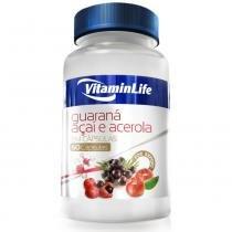Guaraná, Açaí e Acerola - 60 Cápsulas - Vitaminlife - 60 Cápsulas - Vitaminlife