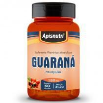 Guaraná com Açaí Apisnutri 60 cápsulas -