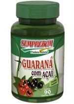 Guaraná com Açaí - Semprebom - 90 cap - 500 mg - Semprebom