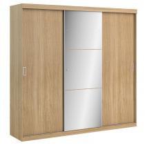 Guarda roupa 3 portas de correr prime glass - thb - Vanilla Sensitive -