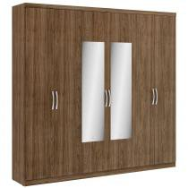 Guarda Roupa 6 Portas 2 gavetas Elite Glass - THB -