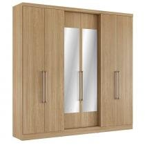 Guarda Roupa 6 Portas Mont Blanc Glass - THB -