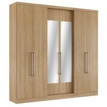 Guarda roupa 6 portas mont blanc glass - thb - Vanilla Sensitive -