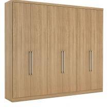 Guarda roupa 6 portas paris thb móveis - Vanilla Sensitive - Thb