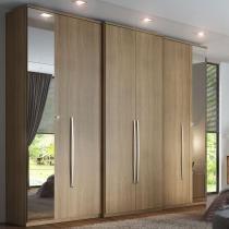 Guarda roupa 6 portas unique espelhos thb - Vanilla Sensitive -