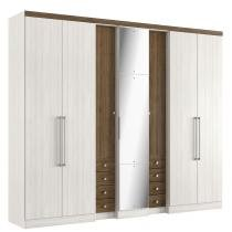 Guarda Roupa 7 portas Absolut Pluss Glass THB -