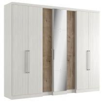 Guarda roupa 7 portas selecto glass thb - Teka Sensitive com Vermont -