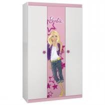 Guarda Roupa Barbie Happy 4 Anos 1 Gaveta 9987 Pura Magia - Pura Magia