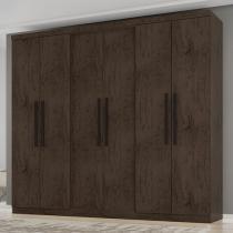 Guarda-roupa Casal 6 Portas 2 Gavetas - Araplac Prime 2060-77