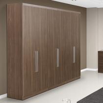Guarda-roupa Casal 6 Portas 4 Gavetas - THB Platinum