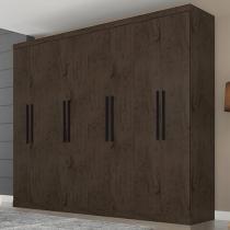 Guarda-roupa Casal 8 Portas 4 Gavetas - Araplac Prime 1684-77