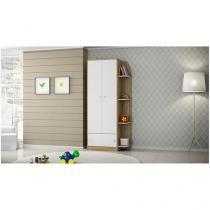 Guarda-Roupa para Bebê 2 Portas 1 Gaveta - Multimóveis Confete 2457866