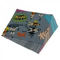 Guardanapo Batman e Robin Quadrinhos HQ Onomatopeias DC Comics - Cinza - Único - Gorila Clube