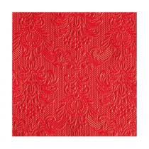 Guardanapo de Papel Elegance Vermelho 15 Unidades 25CM - 28098 - Ambiente