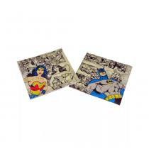 Guardanapo de papel heróis face dc comics colorido 16,5x16,5cm -