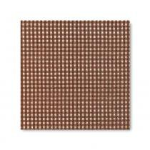Guardanapo Vichy Brown 33X33 cm Paper Design - Paper Design