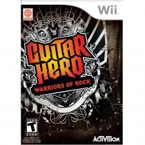 Guitar hero: warriors of rock - wii - Nintendo