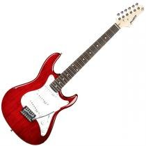 Guitarra Basswood 5 Posições Vermelha Egs216vs Strinberg -