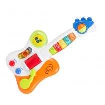 Guitarra do Bebê - Guitarrinha com Luzes e Sons - Winfun -
