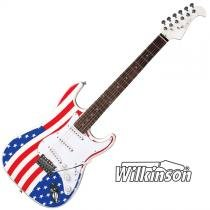 Guitarra Elétrica Eagle STS001 US Stratocaster Cap. Wilkinson - f99816cffa412