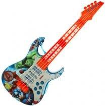 Guitarra Elétrica Infantil Marvel Avengers - Toyng