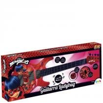 Guitarra Elétrica Miraculous Ladybug - Fun - Fun Brinquedos