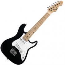 Guitarra Elétrica Strato Infantil Preto Vcg120 Vogga - Vogga