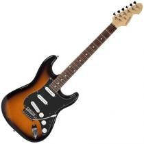 Guitarra Elétrica Stratocaster Standard Sunburst + Preto  Mx-7 Gm227 Michael - Michael