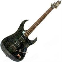 Guitarra Elétrica Verde Escuro Mogno Tcgw Aero 11 Cort - Cort