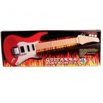 Guitarra Eletrônica Vermelha - DTC - DTC