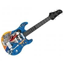 Guitarra Infantil Hot Wheels - Barão Toys - Barão