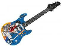 Guitarra Infantil Luxo Radical Hot Wheels MT505A HW Fun - Fun