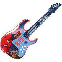 Guitarra Infantil Marvel Homem Aranha - Toyng
