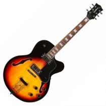Guitarra Semi-Acústica 2 Humbuckers Ghj 140Cw Waldman - Waldman
