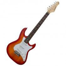 Guitarra Stratocaster Egs216 Cs Cherry Burst Strinberg -