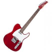 Guitarra Television RW Metallic Red c/ Escudo Branco Perolado - Seizi - Seizi