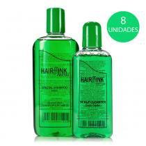 Hair Sink - Tratamento Antiqueda Kit 8 Shampoos 240ml e Tônicos Capilares 140ml -