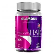 Hair Skin And Nails Glamour Midway - Suplemento de Vitaminas e Minerais - 60 Capsulas - Midway