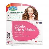 Hair, Skin  Nails 72 cápsulas 20 Grátis - Vitavale