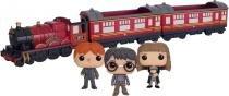 Harry Potter - Hogwarts Express Trem Coleção Os 3 Funko Pop -