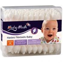 Hastes Flexíveis 60 Unidades - Baby Bath