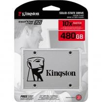 "HD 480 GB SSD SATA 3 (6Gb/s) Kingston SUV400S37/480G SSDNow UV400, 2.5"", 7 mm -"