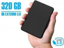 Hd Externo 320gb Portátil YessTech 2,5 Usb 3.0 -