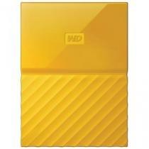 Hd Externo Portatil Western Digital My Passport Amarelo 1 Tb, Usb 3.0 - Wdbynn0010byl-Wesn - Western Digital