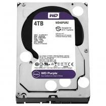 HD Sata 4TB Intellipower Sata Purple Surveillance WD40PURZ WD - Western digital