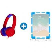 """Headphone/Fone de Ouvido JBL com Cabo P2 - JR 300 + Capa para Tablet Universal 7"""" até 7,9"""""""