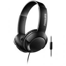 Headphone/Fone de Ouvido Philips com Microfone - Bass+
