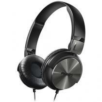 Headphone/Fone de Ouvido Philips com Microfone - Dobrável SHL3165